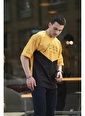 Oksit Crash Forever Erkek Oversize Tshirt Sarı